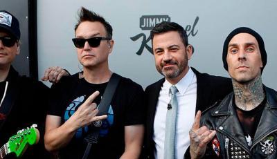 Mira la presentación de blink-182 en Jimmy Kimmel Live
